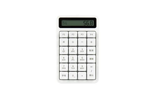 数字小键盘(黑白段码屏)